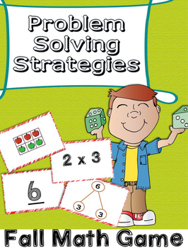 Fall Math Centers Multiplication Equations