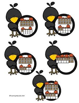 Fall Math Centers Preschool/Kindergarten(Numbers 1-20)