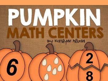 Fall Math Centers - Pumpkins: Counting, Simple Addition and More!