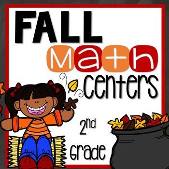 Fall Math Centers {Second Grade}