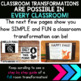 Fall Math Classroom Transformation | 5th Grade Math Review