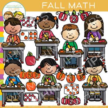 Fall Math Clip Art