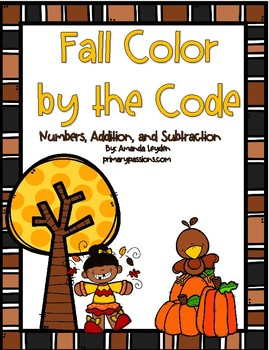 Fall Math Color By the Code