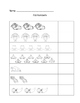 Fall Math Count and Write 1-10
