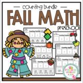 Fall Math Counting Bundle