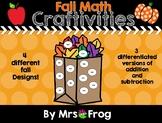 Fall Math Craftivities