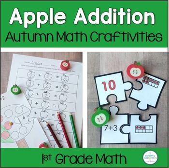 Fall Math Craftivity: Apple Tree Addition