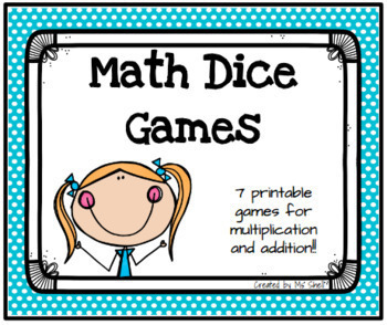 Math Dice Games