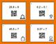 Fall Math: Dividing Decimals QR Code Task Cards