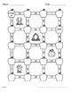 Fall Math: Dividing Integers Maze