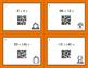Fall Math: Dividing Integers QR Code Task Cards