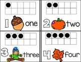 Fall Math Frame Cards