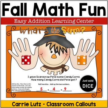 Fall Math Worksheets