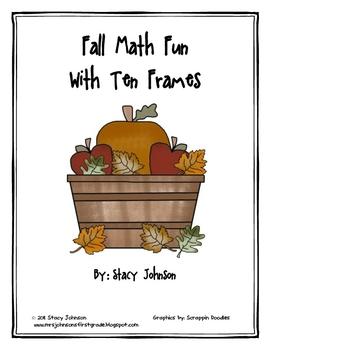 Fall Math Fun With Ten Frames