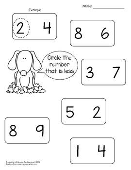 Counting and Cardinality Kindergarten - Fall Math