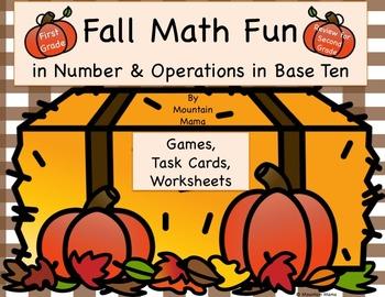 Fall Math Fun in Number & Operations in Base Ten