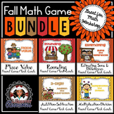 Rounding, Estimating Sums and Differences + More Fall Math Games