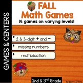 Fall Math Games
