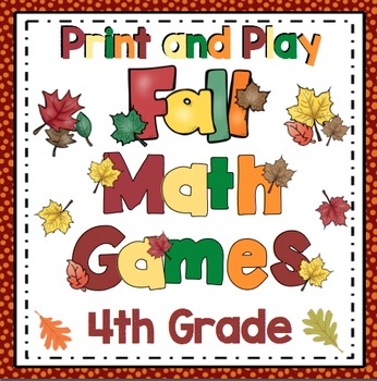 Fall Math: 4th Grade
