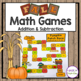 Fall Math Games: Addition and Subtraction