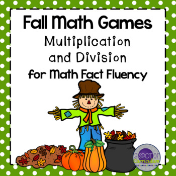 Fall Math Games: Multiplication and Division