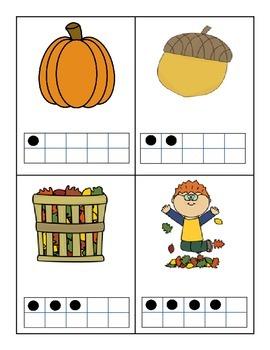 Fall Math Hunts Around the Room