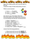 Fall Math : Journal Entry