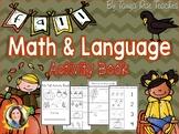 Fall Math & Language Activity Book