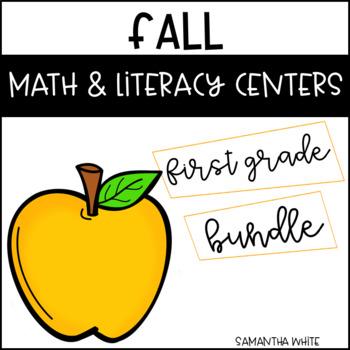 Fall Math & Literacy Centers {BUNDLE}