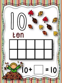 Fall Math & Literacy Centers K-1