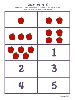 Fall Math & Literacy Kindergarten Pack