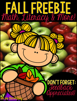 Fall Math, Literacy, & MORE! [FREEBIE]
