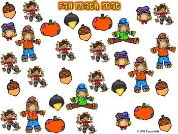 Fall Math Mat