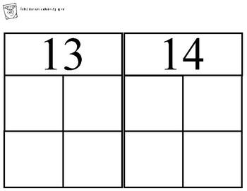 Fall Math Match