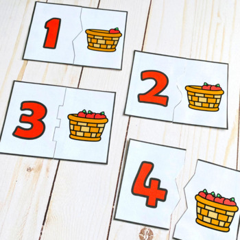 Fall Math Centers : Numbers 1-20