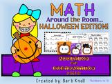 Halloween Math: Math Around the Room Addition and Subtraction