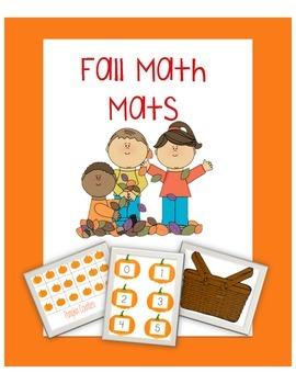 Fall Math Mats
