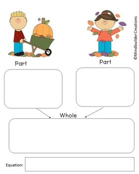Fall Math Mats and Printables