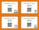 Fall Math: Metric Capacity Conversions QR Code Task Cards