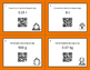 Fall Math: Metric Weight Conversions QR Code Task Cards