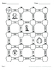 Fall Math: Multiplication Maze (Multiples of 10, 100, and 1000)