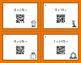 Fall Math: Multiplying Integers QR Code Task Cards