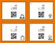 Fall Math: Multiplying by Multiples of 10, 100, and 1000 QR Code Task Cards