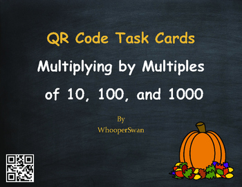 Fall Math: Multiplying by Multiples of 10, 100, and 1000 Q