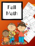 Fall Math (Numbers 0-5)