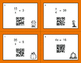 Fall Math: One Step Equations (Multiplication & Division) QR Code Task Cards