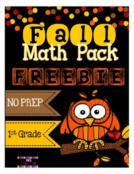 Fall Math Pack FREEBIE!