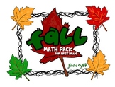 Fall Math Pack - First Grade NBT Common Core Practice