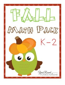 Fall Math Pack (K-2)