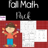 Fall Math Packet Numbers 1-25